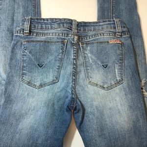 Hudson Distressed Jeans Sz 14
